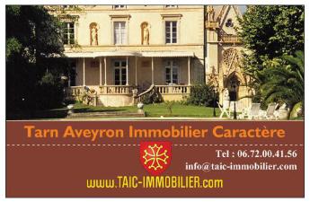 Maisons de Charme, Belles Demeures & Propriétés Tarn et Aveyron